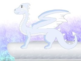 Blizzul the Ice Dragon by Jett-Moonwing