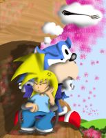 No, That's a FORK Sonic by Toonfreak