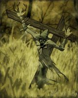 ScareCrowMan by ChadGrimm