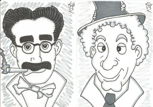 Groucho and Harpo PSC's by kylemulsow