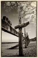 Norfolk Coast Post2: Mundesley by Coigach