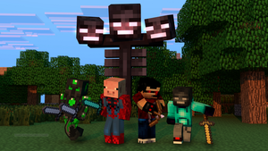 Fighters of the Wither by IutTheRedGlaceon