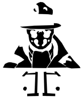 Rorschach Stencil by ghostcake