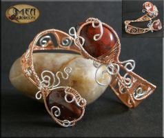 Swirly- bracelet by mea00