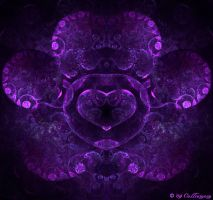 Deep Purple Heart by Colliemom