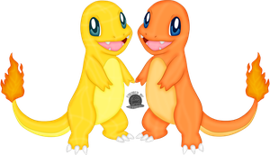 004 Charmander by Blackmoonrose13