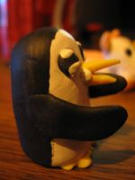 Adventure Time: Side View Gunter by Spaz-Twitch11-15-10