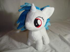 Vinyl Scratch DJPON3 filly plush by PlanetPlush