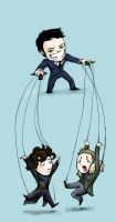 Pulling Your Strings Sherlock by Clockwork-Fox