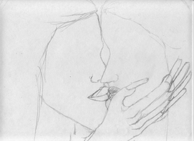 unfinished kiss by holyguyver