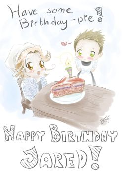 Happy Birthday Jared Padalecki 2015! by Tildhanor