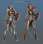 Unused Teela Concept by popmhan