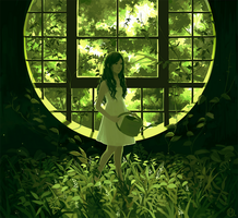 Viridian Window by riysse