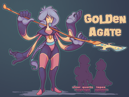 Golden Agate by CaptainHarrie