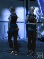 Liara Asian Style Suit (XPS) by Grummel83