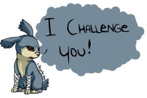 I CHALLENGE YOU! by Aeyote