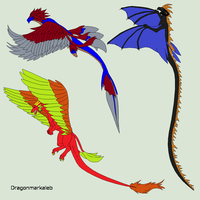 Dragons - DTA (Warning! First come first serve) by MARB13S