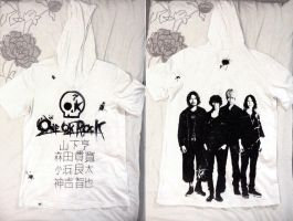 I used up 4 markers to this.. my beloved t-shirt! by Reyos-Cheney