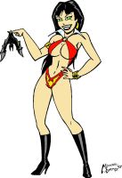 Vampirella by RedSpider2008