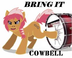 Peanut Cowbell by Tabaxion