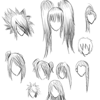hairstyles by jinmuto1377