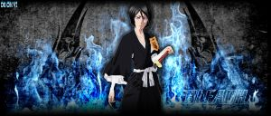 rukia color wallpaper by DEOHVI