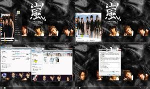 Arashi Windows 7 Theme by HKK98