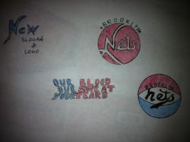 Brooklyn Nets Logos by Stencils-by-Chase