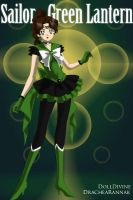 +Justice Scouts+ Sailor Green Lantern(Hal) by phoenixtsukino