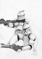 Clone Troopers by Halcylon