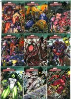 Marvel Masterpiece 3 Lot 6 by DKuang