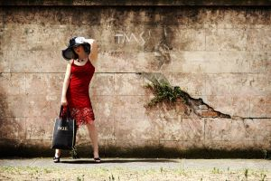 lady in Red 4 by stanb