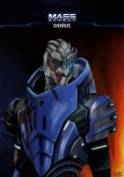 Mass Effect Garrus by TFGlider