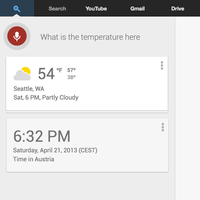 Google Now for Desktop by r2ds