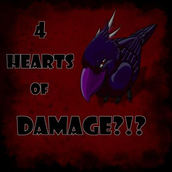 Four Hearts Of Damage by Shmicklet