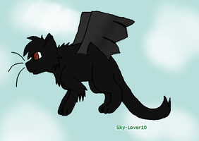 Flying High -Commison- by sky-lover10