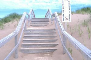 Sand stairs by OceanLoner04