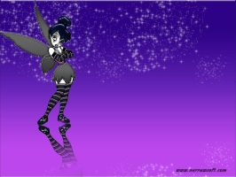 Goth tinkerbell by supostabme