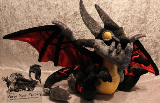 Deathwing Plush - World of Warcraft by Forge-Your-Fantasy