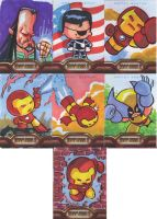 Iron Man Cards 3 by JeffVictor