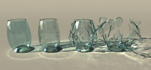 Glass Caustics by Shaun-Remo