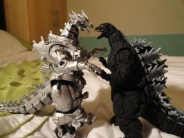 MonsterArts VS Chogokin 2 by GIGAN05