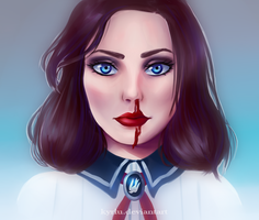 Nose bleeding by kyrlu