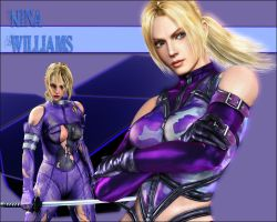Tekken - Nina by LordSlayer