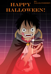 One Piece Halloween Special by SalamanderHen