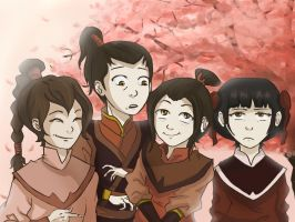 Fire Nation Kids by akszirules