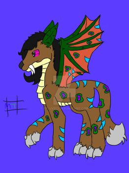 Cat Dragon Horse snake thing by FFluvr13