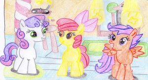 The Cutie Mark Crusaders by Daring-Dash-Hoof