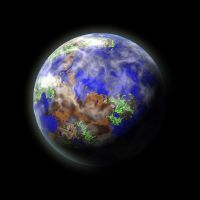Earth-like Planet by juanosarg