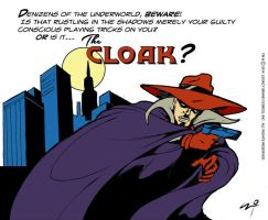 Is it The Cloak? by LegacyHeroComics